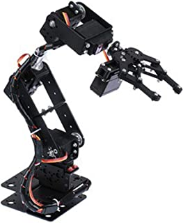 Mechanical robotic arm, manipulative mechanical arm, 6DOF stability for college teaching