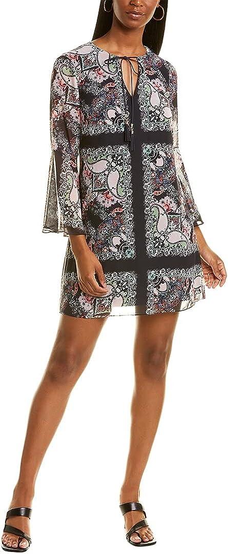 Vince Camuto Women's Printed Chiffon Float Dress