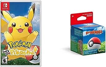 Pokemon: Let's Go, Pikachu! Bundle with Poké Ball Plus