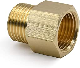 Royal H&H Metals Brass Pipe Fitting, Adapter, G 1/2