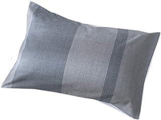 Lausonhouse 枕カバー, 綿100%先染めストライプピロケース 43X63CM