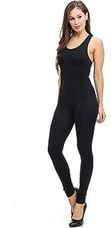 Women's Premium Basic Nylon Spandex Jumpsuit - Shop 5 Colors