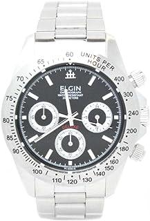 [エルジン]ELGIN 腕時計 クロノグラフ 日本製ムーブメント ウォッチ ブラック FK1059S-B メンズ