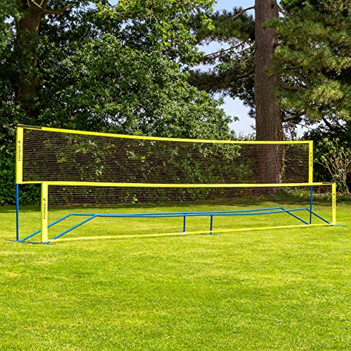 Vermont Procourt Combi Net | Perfect for Tennis, Badminton, Pickleball & Soccer Tennis | Super Quick Assembly with Steel Poles | Use Indoors, Outdoors, On The Beach Or The Backyard! (20ft Wide)