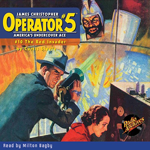 Couverture de Operator #5 #10 January 1935
