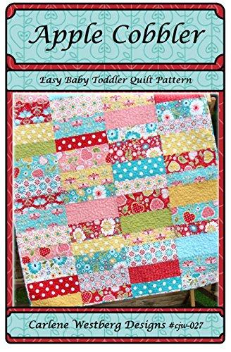 Baby Quilt Pattern Apple Cobbler cjw-027 Carlene Westberg Designs