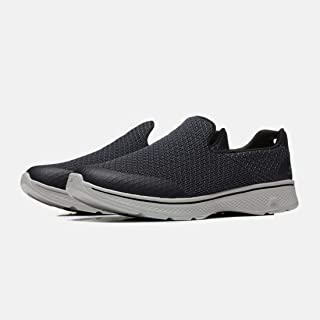 Skechers Men's Shoes Summer Mesh Cloth Air-permeable Feet-covering Comfortable Lefu Shoes blue