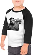 RhteGui Kevin Gates Cotton Tee Shirt 3/4 Sleeve Tshirt Outfit Clothes T Shirts for Boys Girls