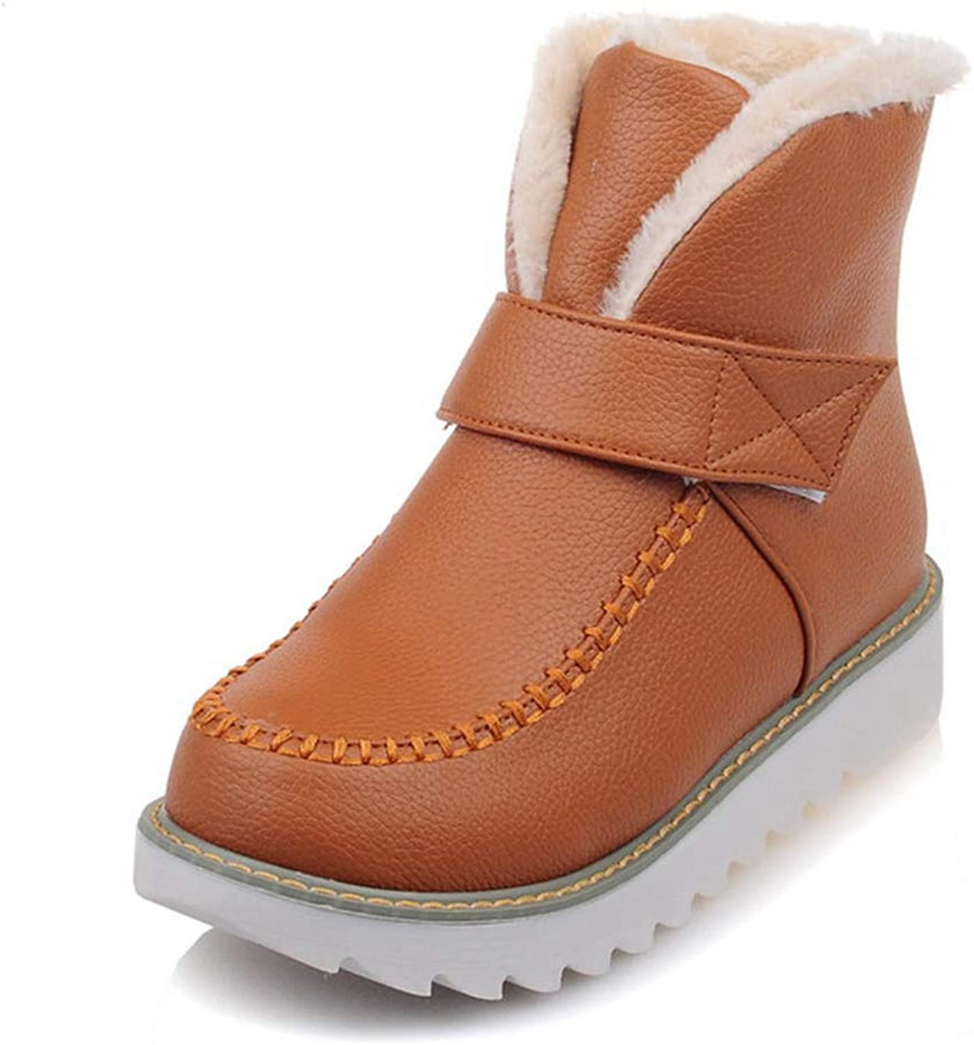 T-JULY Leisure Warm Plush Winter Snow Boots Women shoes Wholesale Dropship Girls Waterproof Ankle Boots