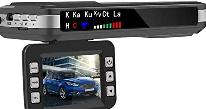$87 » WATPET Full Range 2 in 1 Car Dashboard Camera Radar Detector Speedometer Moving Speed Radar Detection Protection X K CT La...
