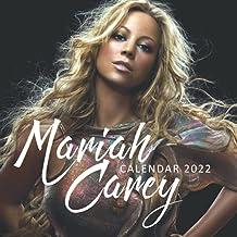 Mariah Carey 2022 Calendar: Squared Monthly Calendar Mini Planner 12 Months 2022 bonus September to December 2021 , Pop Mu...