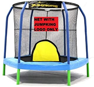 JumpKing 7.5' Enclosure Net Hexagon for 6 Poles for 5