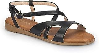 81.310140.Z Siyah Kadın Sandalet