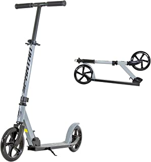 Spartan SP-7006 Edge - 200mm Wheel Folding Scooter - Grey