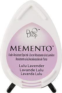 Tsukineko Memento Dew Drop Fade Resistant Inkpad of All Kinds, Lulu Lavender
