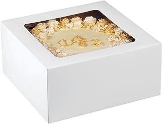 Wilton 12-Inch Cake Box with Window for 10-Inch Cake, 2-Piece Set