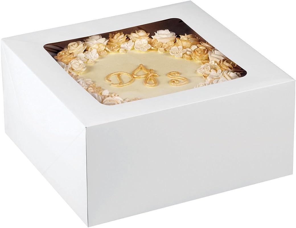 Wilton 12 Inch Cake Box With Window For 10 Inch Cake 2 Piece Set