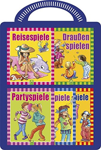Kinderspiele - 5 Minibücher mit tollen Spielen: Für Kinder ab 3 Jahren