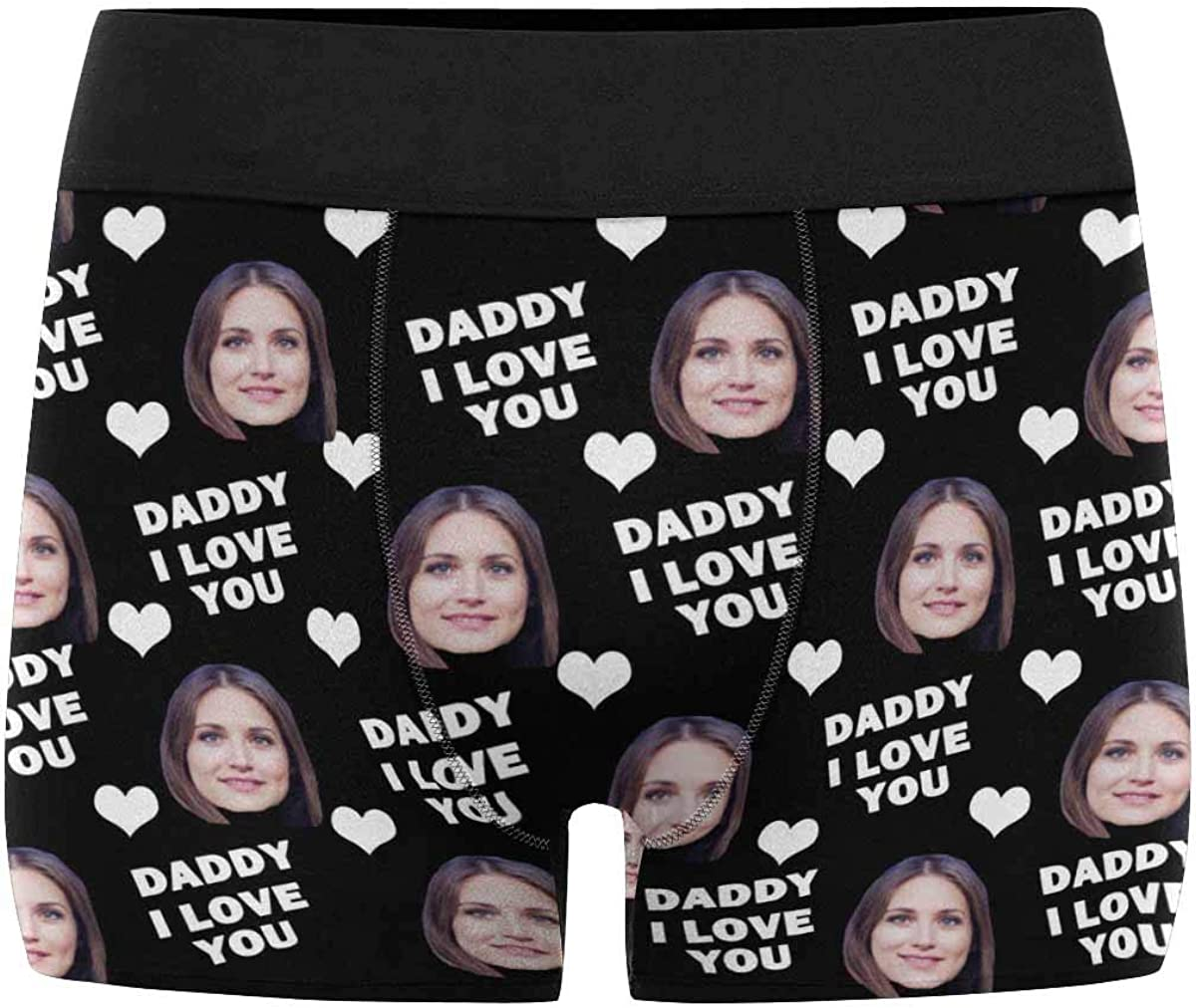 Now on sale Custom Girlfriend Face I High order Licked It Boxer Briefs Men's D Birthday