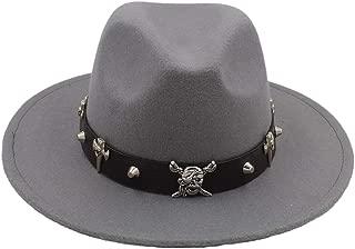HaiNing Zheng Fashion Wool Women Outback Gold circle Fedora Hat For Winter Autumn ElegantLady Floppy Cloche Wide Brim Jazz Caps
