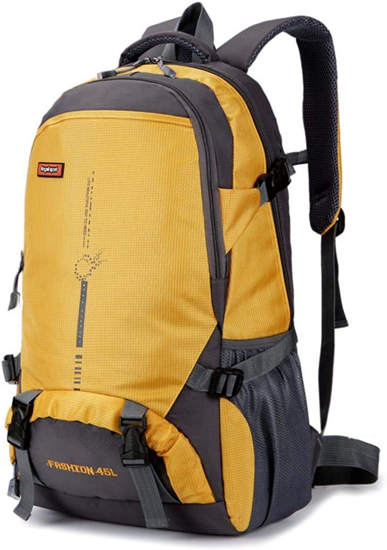 Windowpick Outdoor Backpack Women Men,45L Large Capacity Daypack Camping Hiking Mountaineering,Nylon Waterproof Rucksack