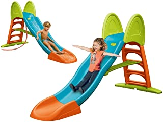 FEBER - Tobogán Super Mega Slide con Agua (Famosa 800009594