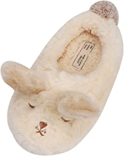 13bb2fd9bb3bc Chaussons Chaud Hiver Pantoufles Femmes Maison Chaussures Antidérapant  Mules d intérieur Motif Animaux Mignon Confortable