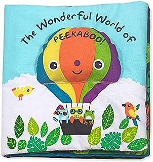 Melissa & Doug Soft Activity Baby Book- The Wonderful World of Peekaboo