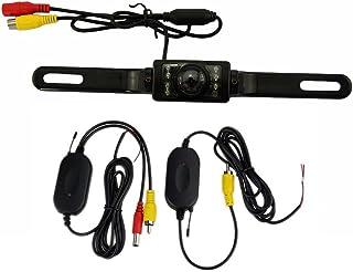 Ezonetronics 2.4G Wireless Car Backup Camera, Wide Angle HD Easy-Installation 7LED Night Vision Waterproof Rear View Back ... photo