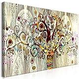 murando Cuadro en Lienzo Gustav Klimt 120x60 cm 1 Parte Impresión en Material Tejido no Tejido Impresión Artística Imagen Gráfica Decoracion de Pared Arbol Piedras Art l-A-0033-b-a