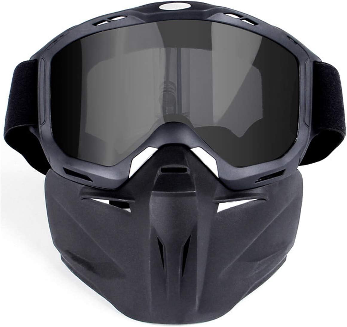 Blisfille Gafas Proteccion con Led Gafas Protectoras Fotodepilacion,