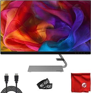 """Lenovo 27"""" IPS LED 2K QHD FreeSync Ultra-Slim Natural Low Blue Light Monitor (Q27q-1L) Antiglare 4ms 75Hz Built-in Speaker..."""