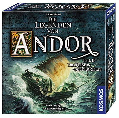 KOSMOS 692346 Die Legenden von Andor - Teil II Die Reise in den Norden, Erweiterung für das Grundspiel