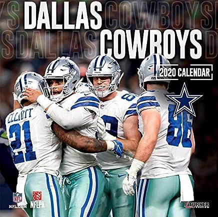 Dallas Cowboys 2020 Calendar Amazon.com: Dallas calendar   Football (American) / Sports