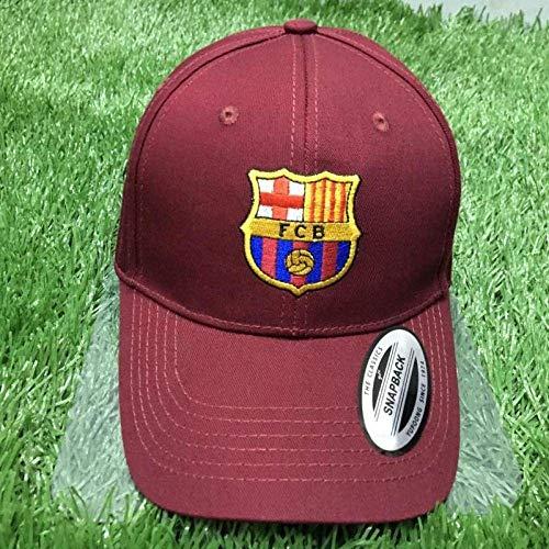Europäische Fußballmannschaft Fans Geschenk Hüte Casual Baseball Caps Outdoor Sunhats, Bayern München, Einheitsgröße, S-C, Barcelona Wein rot, Einheitsgröße