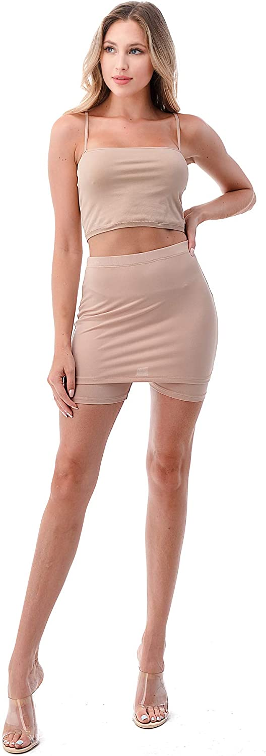 NIGHTIE Women's Under Manufacturer direct delivery Dress Slips Short Mini with Kansas City Mall