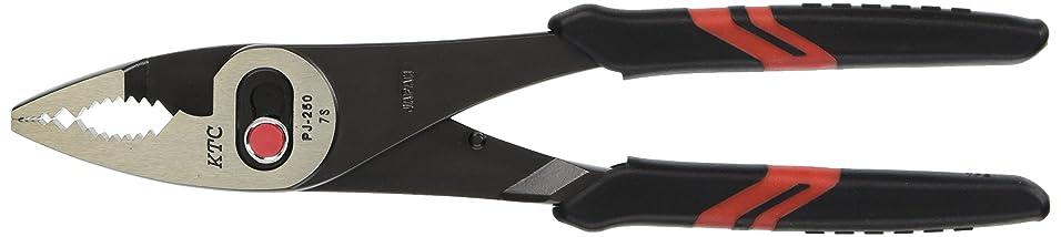KTC (京都機械工具) コンビネーションプライヤー (ソフトグリップ付) 250mm PJ250
