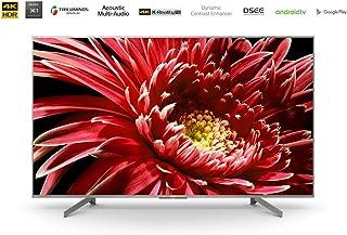 Sony 55 Inch 4K UHD Android Smart TV -KD-55X8577G -Silver Bezel,(2019)