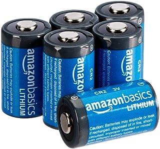 AmazonBasics - Pilas de litio CR2 de 3 V Pack de 6