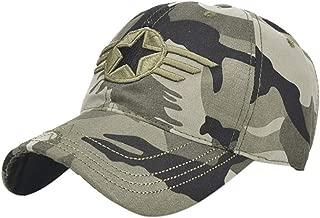 URIBAKE Women Adjustable Baseball Hat Embroidery Hip-Hop Cap Shade Camouflage