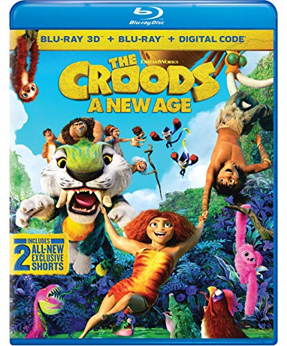 The Croods: A New Age [Blu-ray 3D + Blu-ray + Digital Combo Pack]