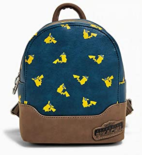Loungefly x Pokemon Detective Pikachu Allover-Print Mini Backpack