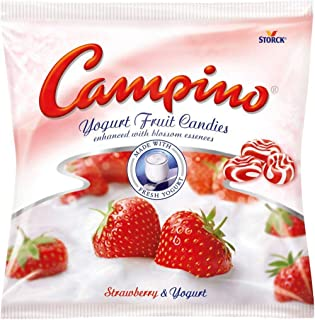 Campino Yogurt & Fruit Hard Candies - Strawberry - (120g/4.2oz)