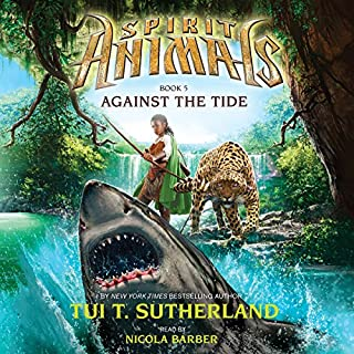 Against the Tide     Spirit Animals, Book 5              Auteur(s):                                                                                                                                 Tui T. Sutherland                               Narrateur(s):                                                                                                                                 Nicola Barber                      Durée: 4 h et 58 min     1 évaluation     Au global 5,0