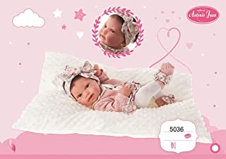 Antonio Juan- Muñeca Baby Born Pipa 42 cm, Multicolor (5036