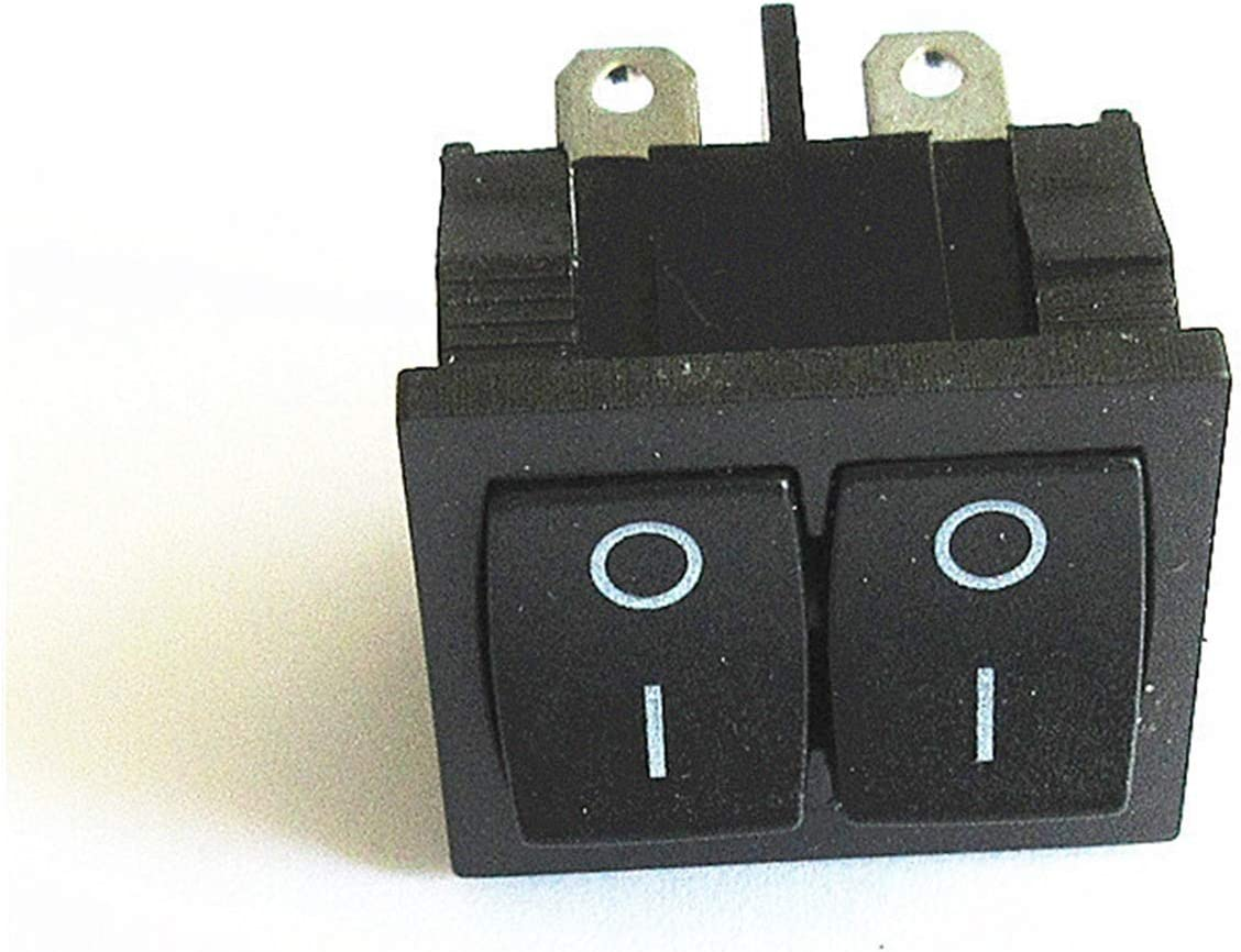Zuolaijf Rocker Switch KCD5 Double Off ON Bl Max 86% OFF 4-pin Excellent