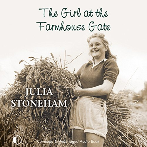 The Girl at the Farmhouse Gate audiobook cover art
