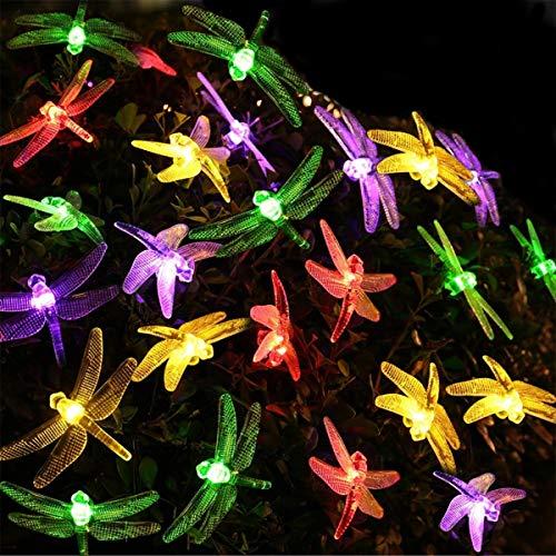 Les Lanternes Menées Lichtketting, waterdicht, led-snoer Fee, voor buiten, zonne-touw, 30 Xenon kleuren