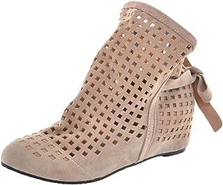 : été Beige Bottes et bottines Chaussures