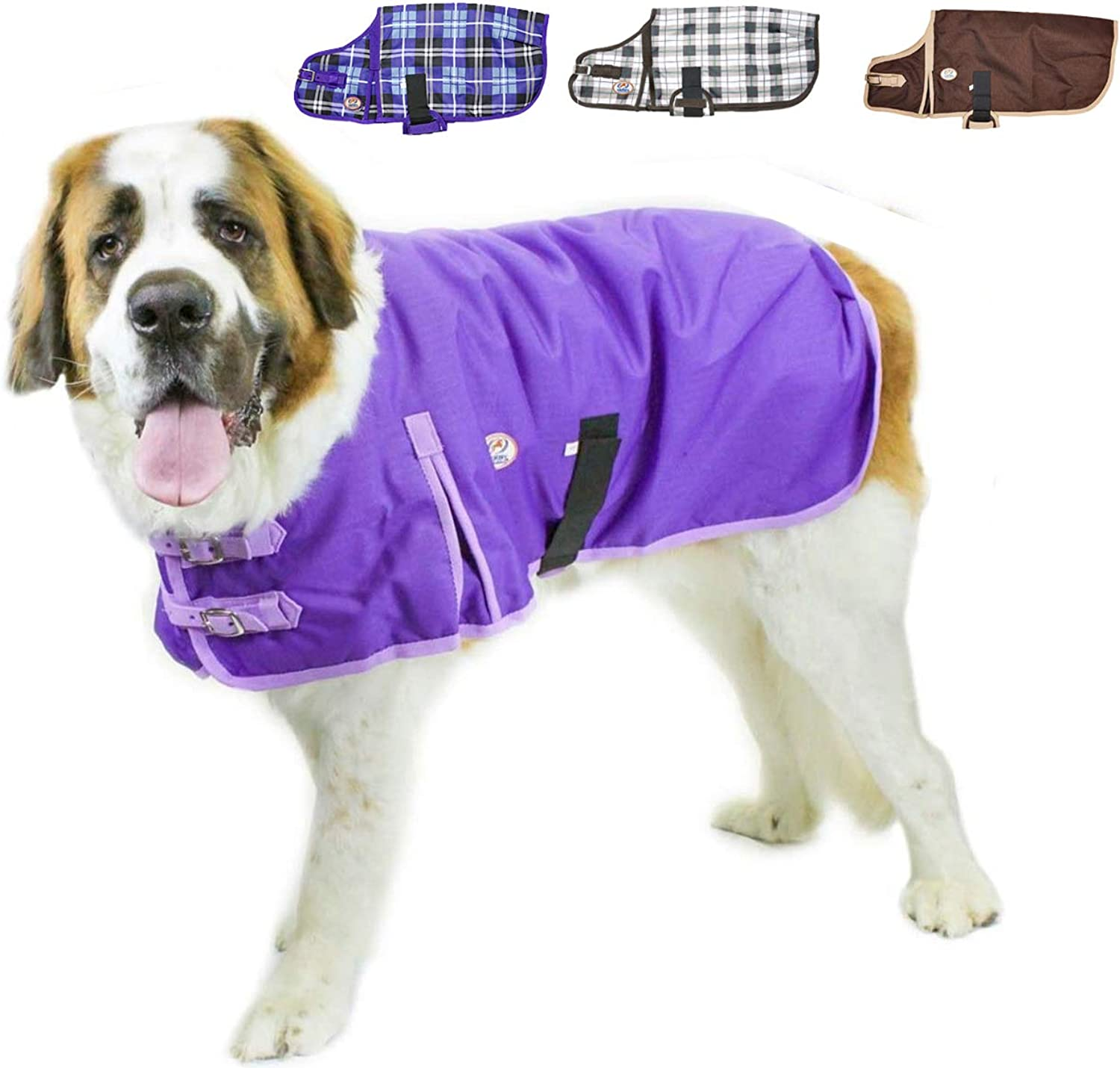 Derby Originals HorseTough 1200D Waterproof Ripstop Nylon Winter Dog Coat 150g Polyfil with Two Year Warranty